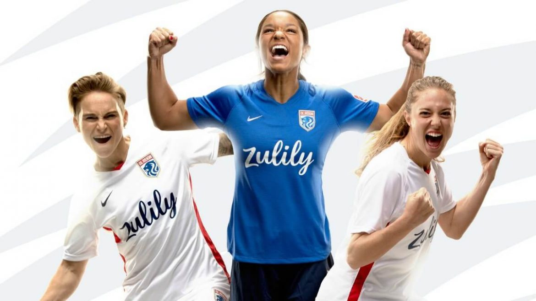 Camisas do OL Reign 2020-2021 Nike