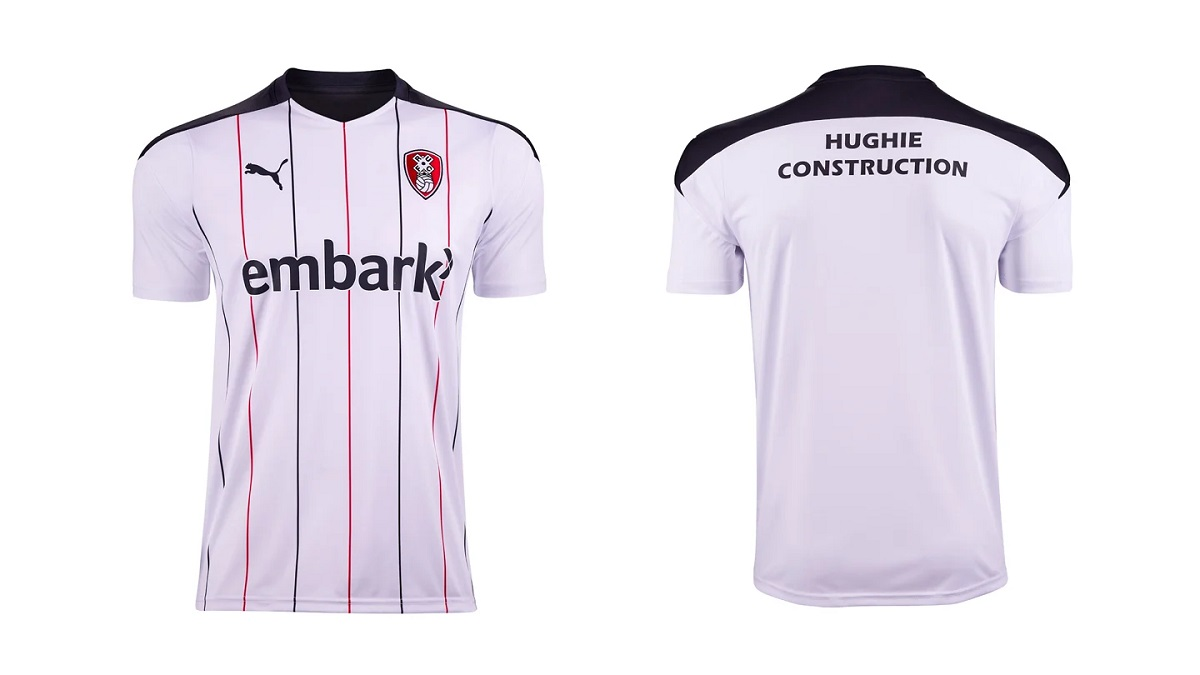 Camisas do Rotherham United 2020-2021 PUMA