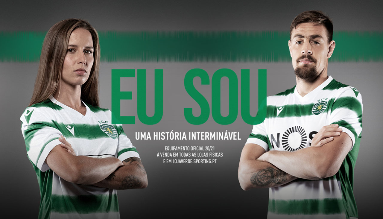 Camisas do Sporting Club 2020-2021 Macron