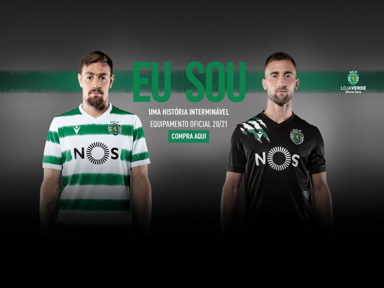 Camisas do Sporting Clube 2020-2021 Macron