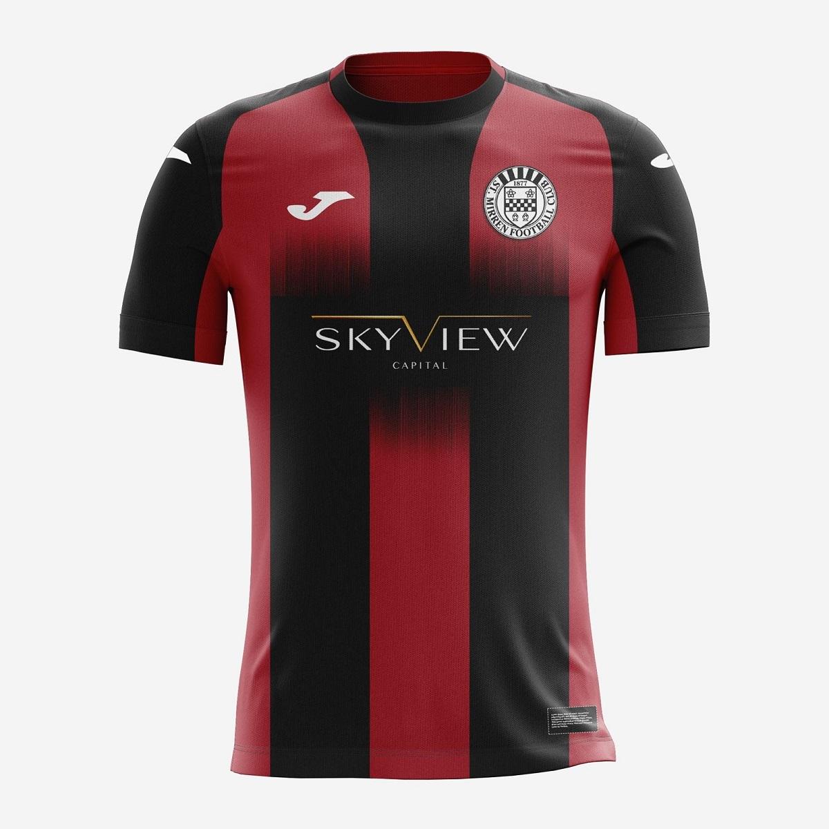 Camisas do St. Mirren 2020-2021 JOMA