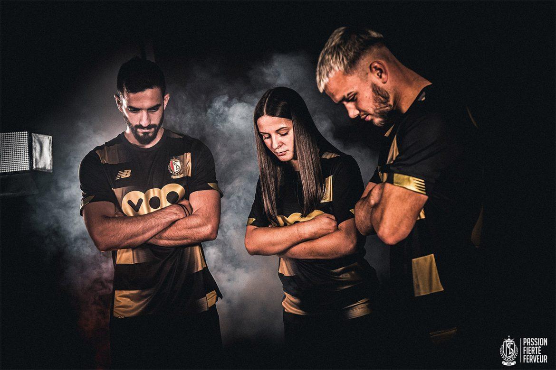 Camisas do Standard Liège 2020-2021 New Balance Terceira