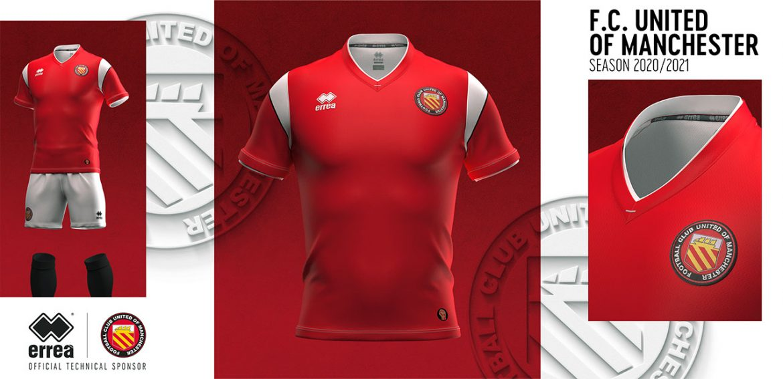 Camisas do United of Manchester 2020-2021 Erreà