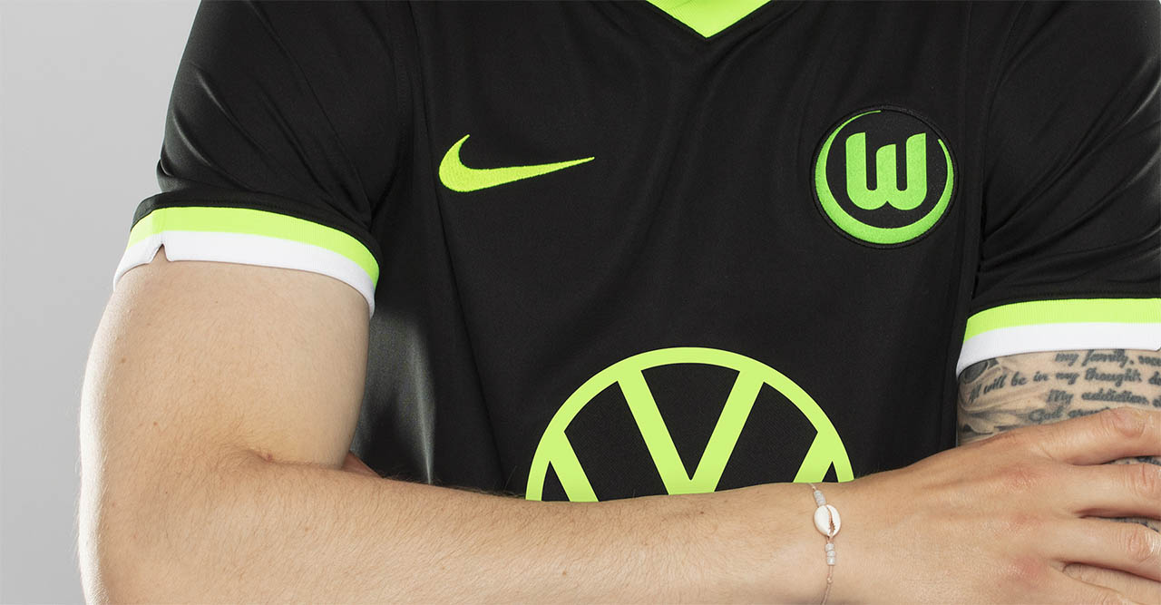 Camisas do Wolfsburg 2020-2021 Nike Reserva kit