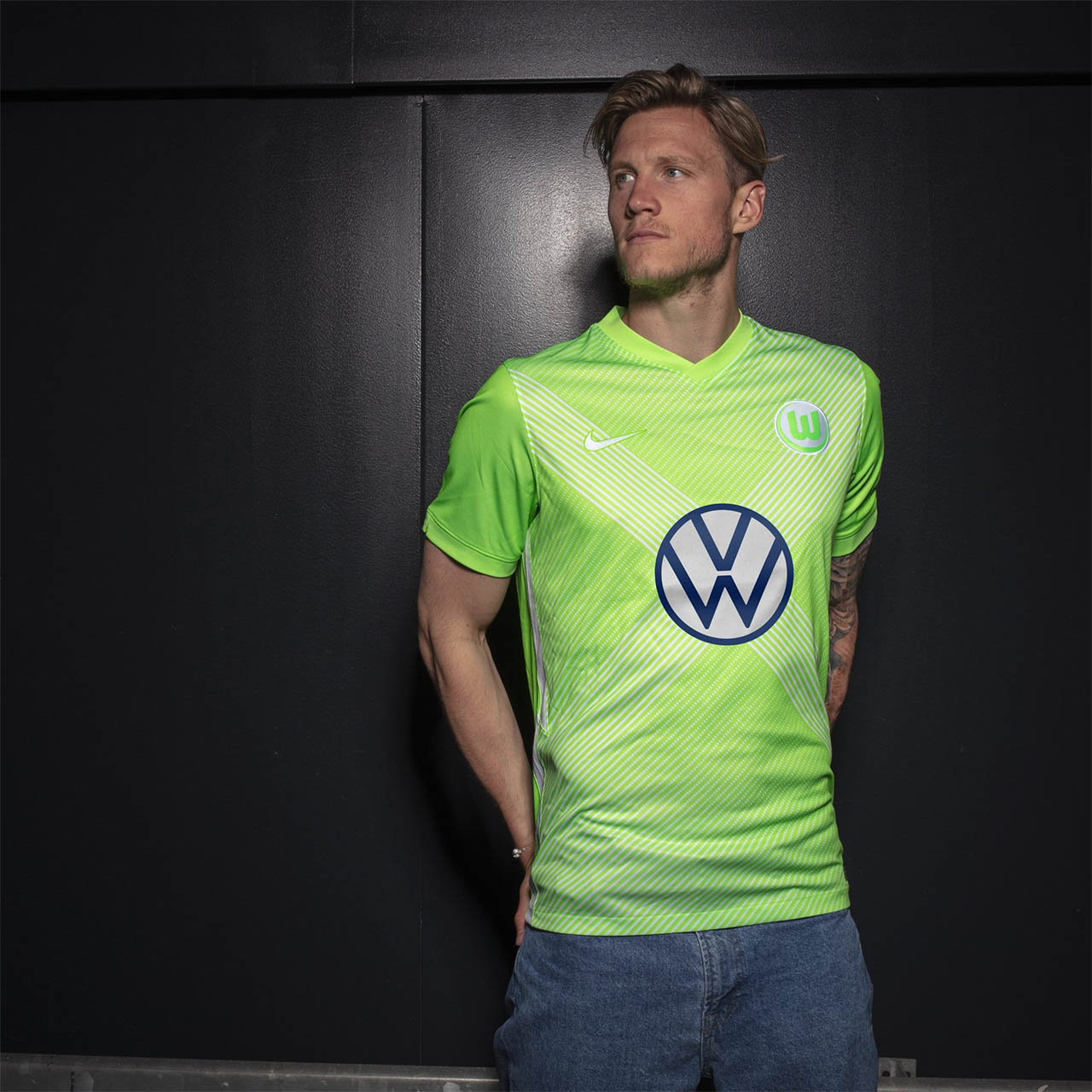 Camisas do Wolfsburg 2020-2021 Nike Titular kit
