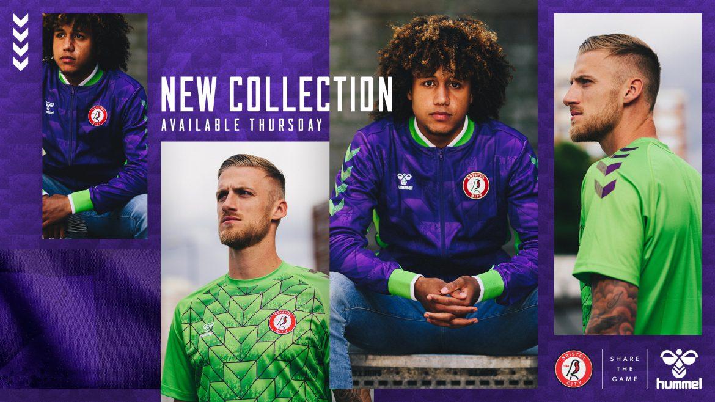 Hummel lança coleção 2020-2021 para o Bristol Rovers