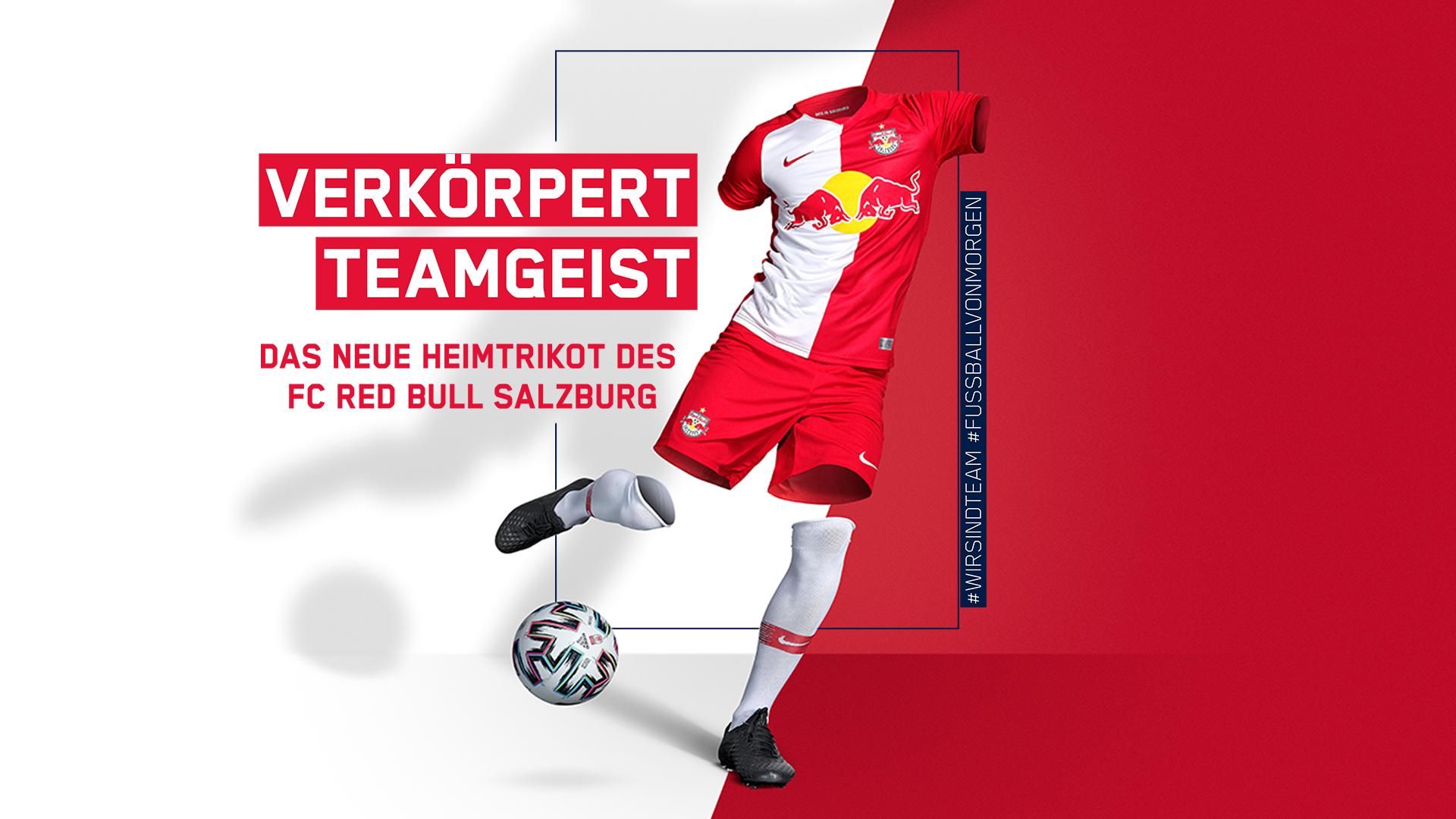 Camisas do Red Bull Salzburg 2020-2021
