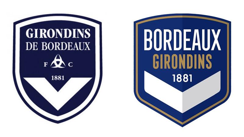 Escudo do Girondins de Bordeaux 2020-2021