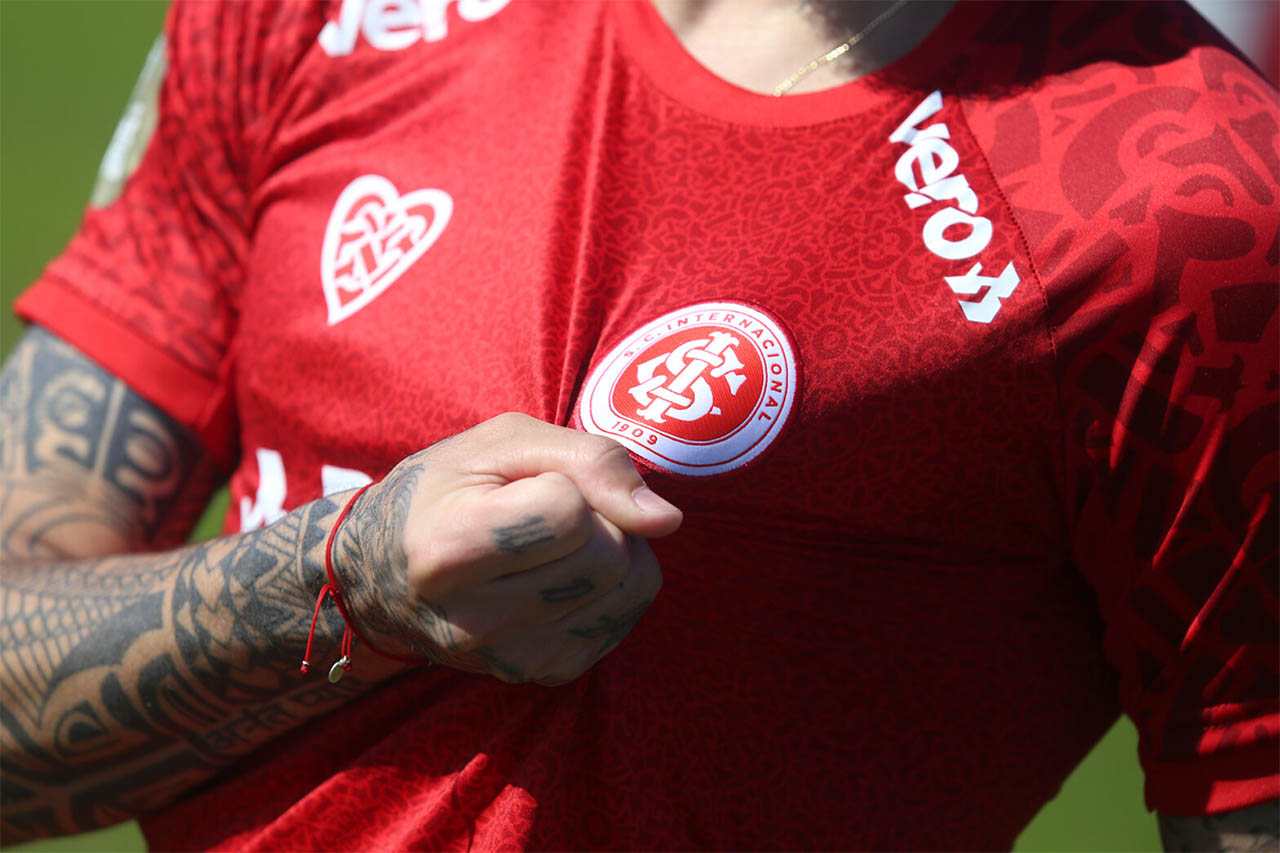 Estaremos Contigo Internacional Lanca Camisa Especial Para Socios Mantos Do Futebol