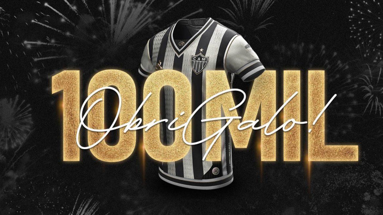 Manto da Massa Atlético-MG 100 mil camisas vendidas