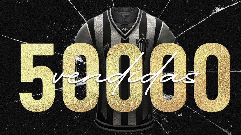 Manto da Massa Atlético-MG 50.000 vendidas