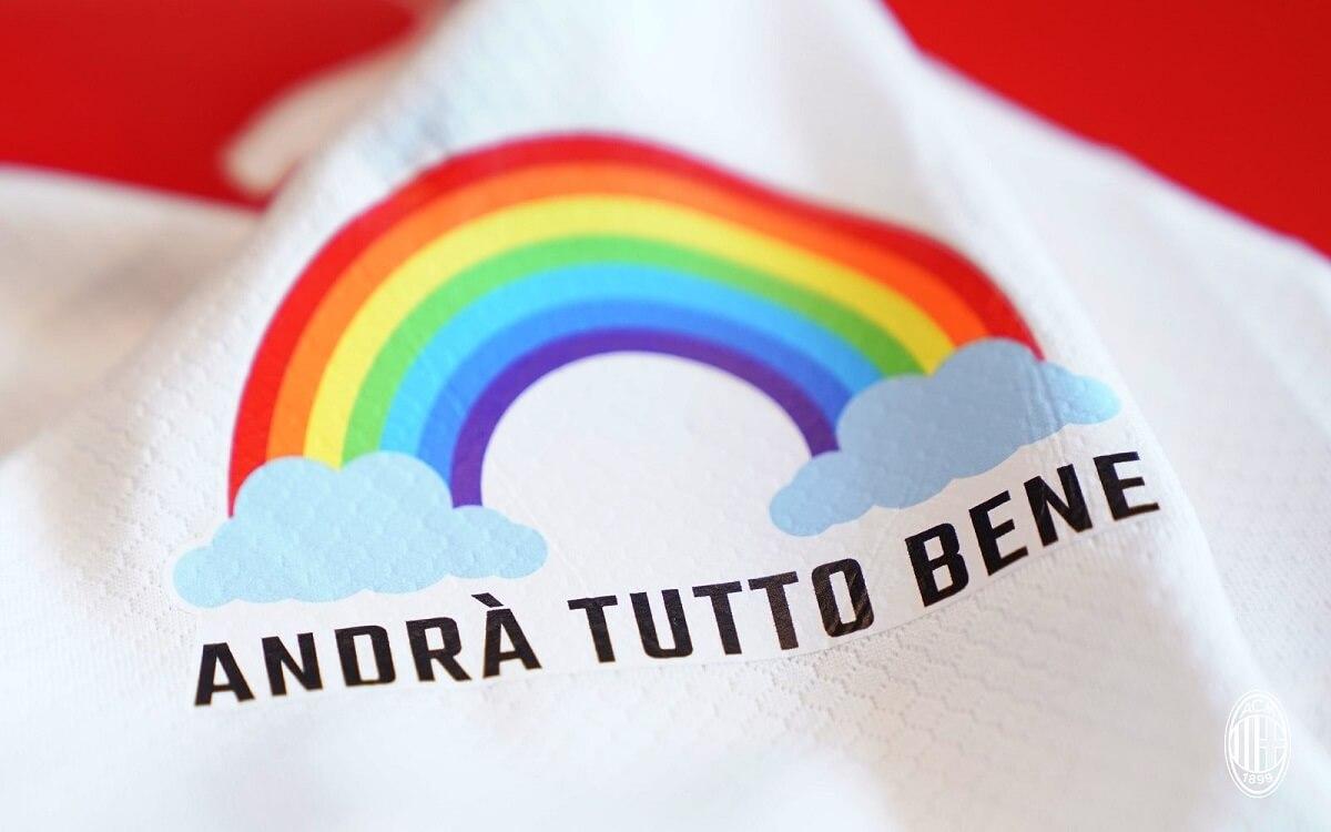 Milan lança camisas especiais para profissionais da saúde
