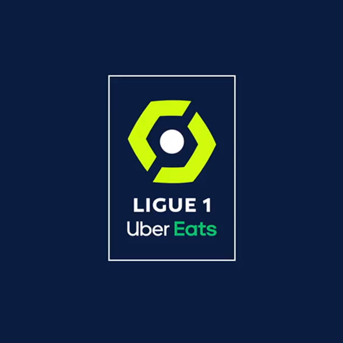 Novo logo Ligue 1 Uber Eats