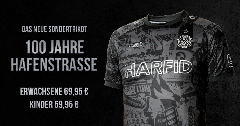 Rot-Weiss Essen lança camisa pelo centenário do estádio Hafenstraße