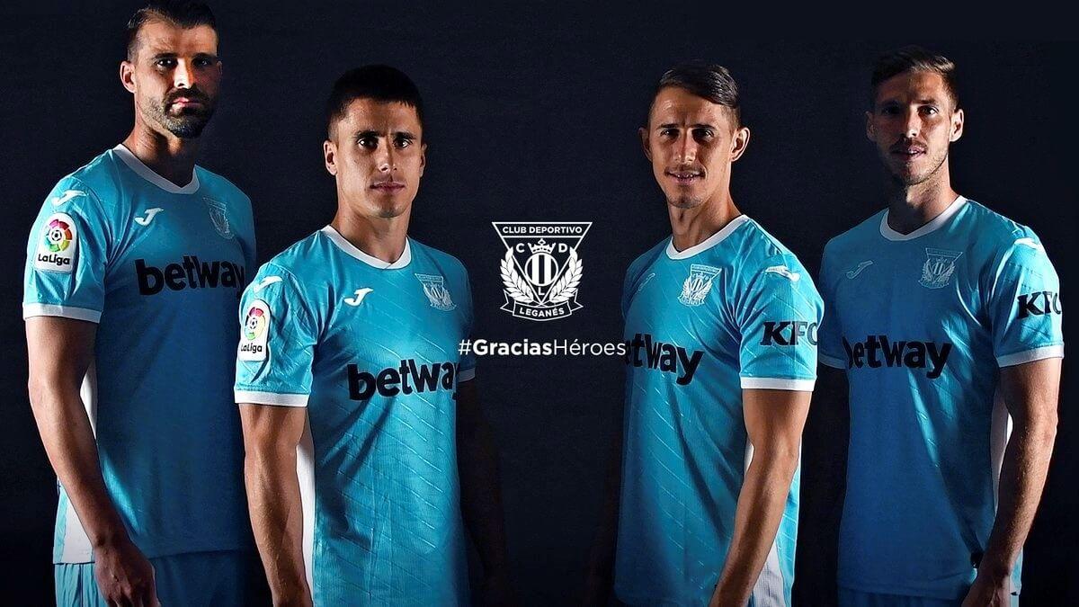 Terceira camisa do Leganés 2020-2021 JOMA