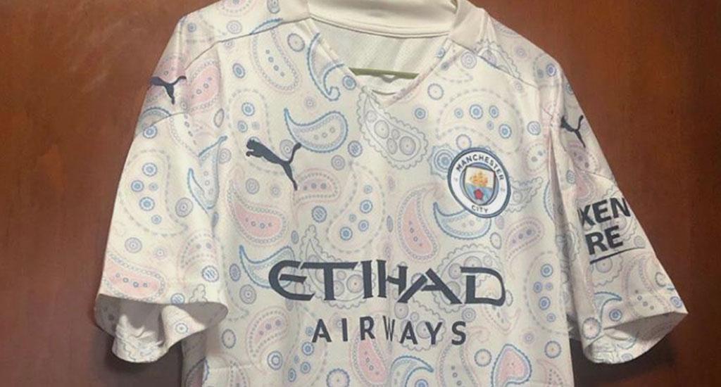 Terceira camisa do Manchester City 2020-2021 PUMA a