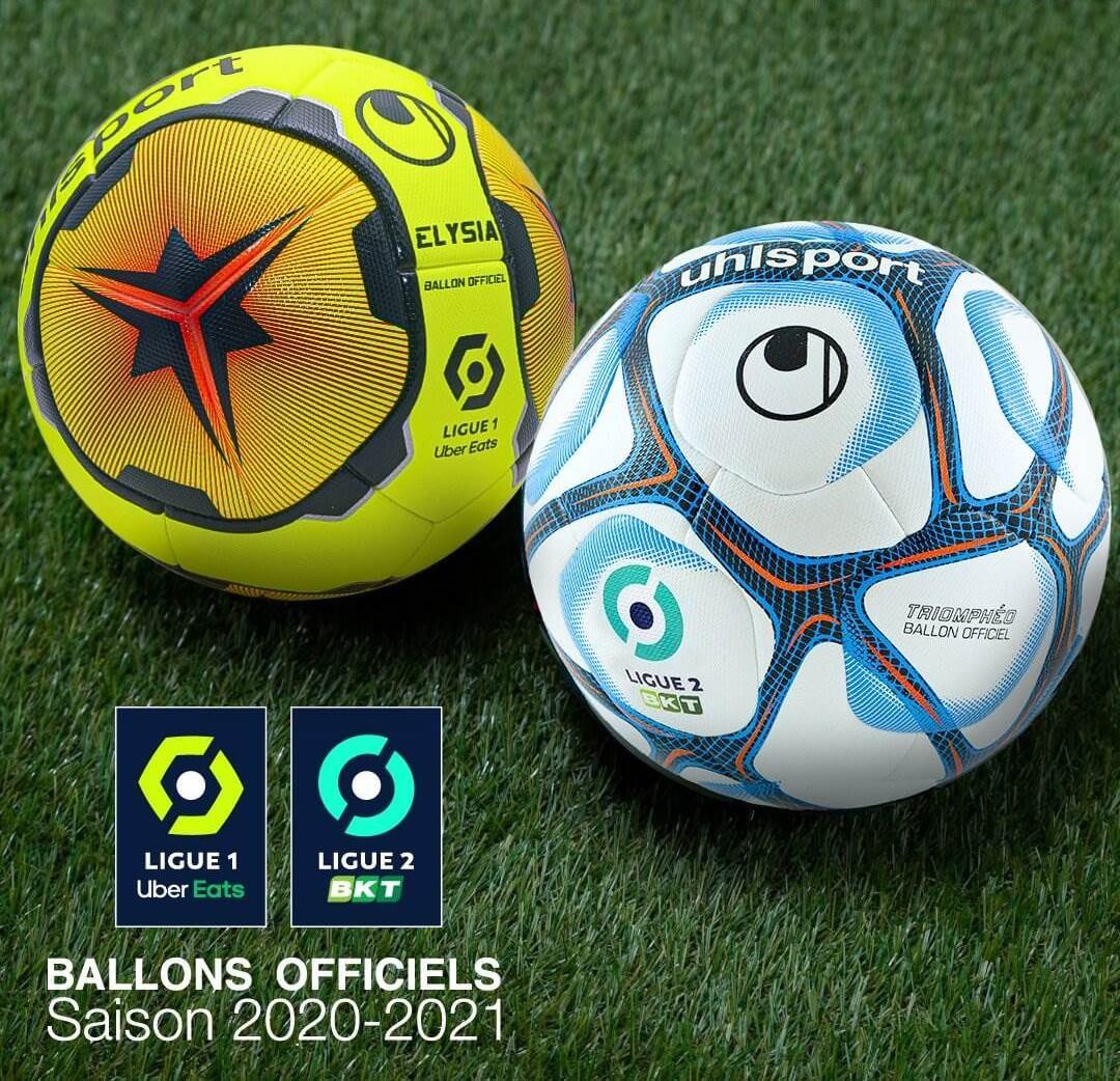 Uhlsport lança bolas para Ligue 1 e Ligue 2 2020-2021