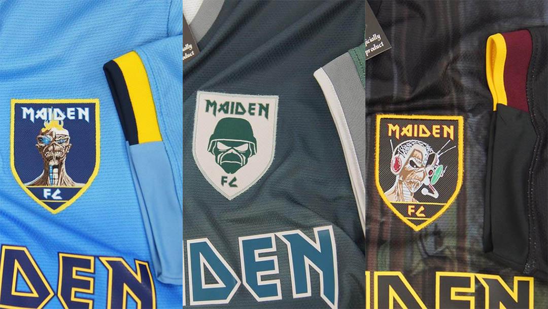 WA Sport apresenta três novas camisas do Iron Maiden