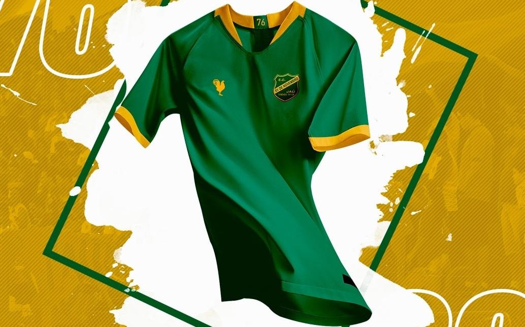 XV de Jaú lança camisas em homenagem à 1976