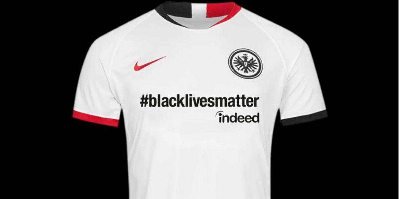 Eintracht Frankfurt usará camisa especial contra racismo na Bundesliga
