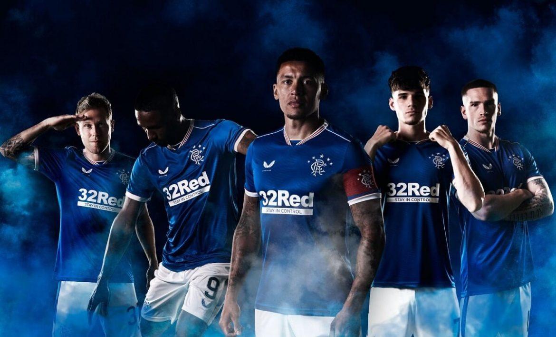 Camisas do Rangers FC 2020-2021 Castore