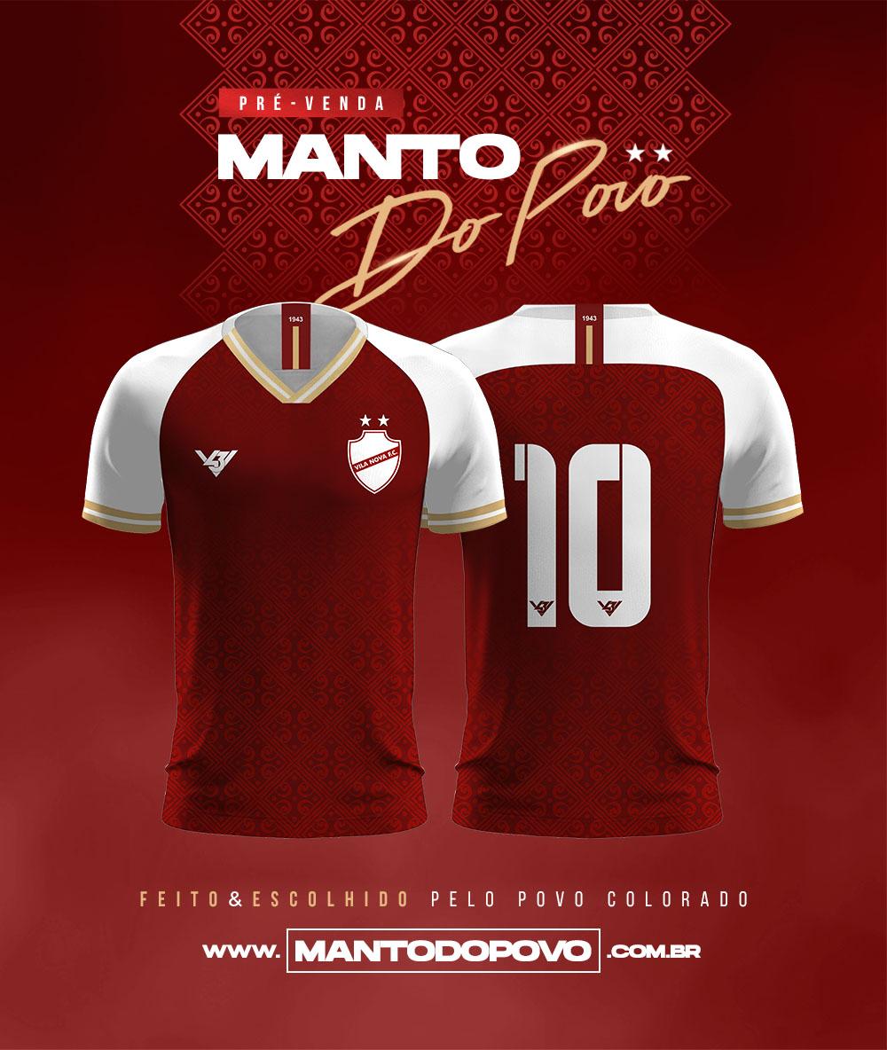 terceira camisa do Vila Nova 2020-2021 V43 Lucas Lara
