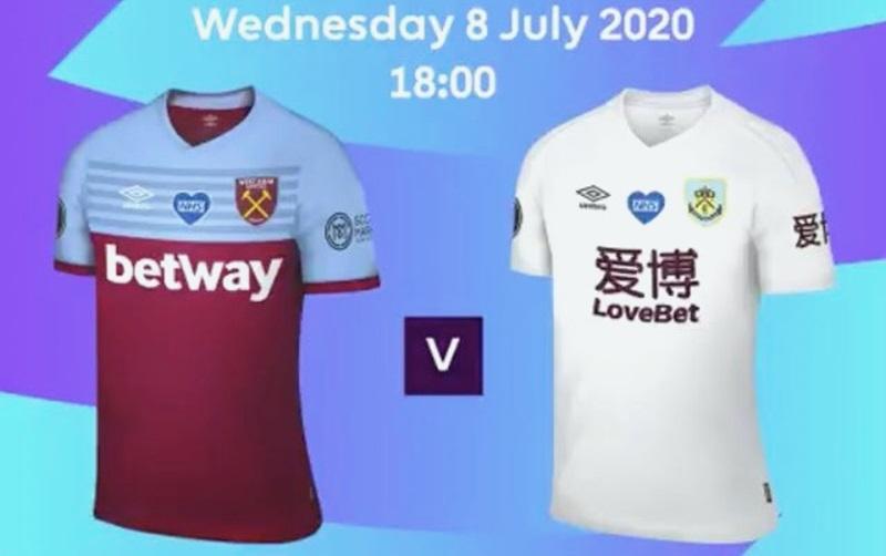 Burnley usará camisa improvisada contra West Ham