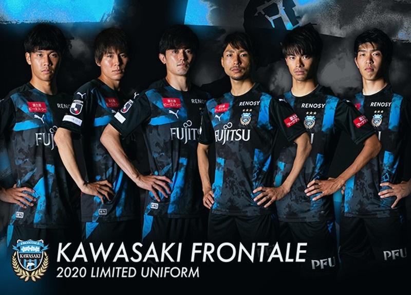 Camisa Edição Limitada do Kawasaki Frontale 2020 PUMA