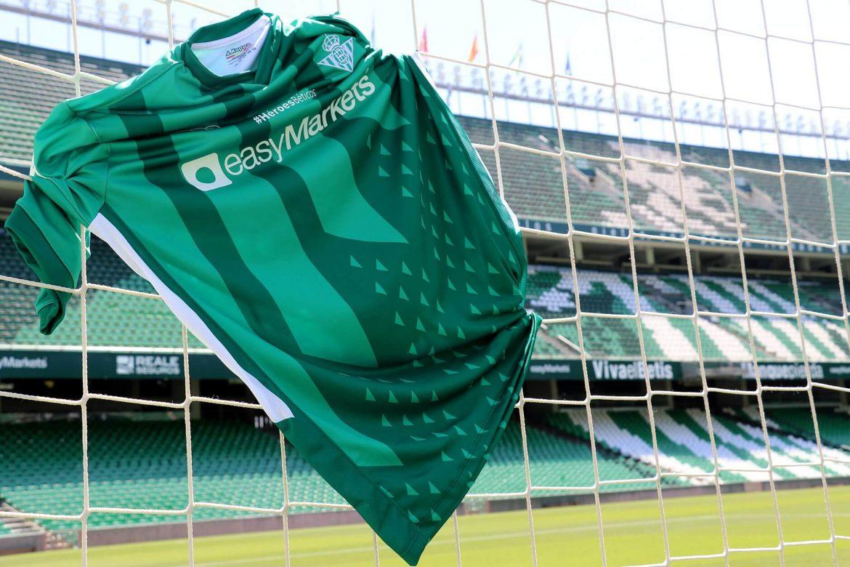Camisa #HéroesBéticos do Real Betis 2020 Kappa