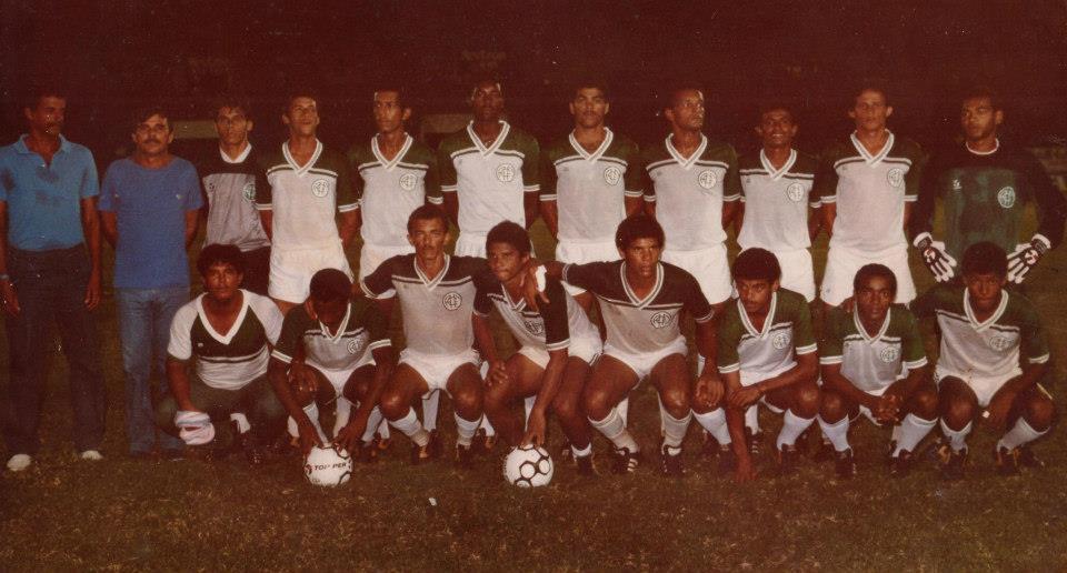 Camisa branca do América-PE 1985