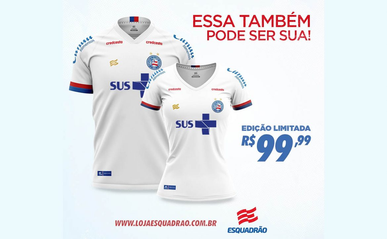 Camisa popular Bahia 2020 SUS a