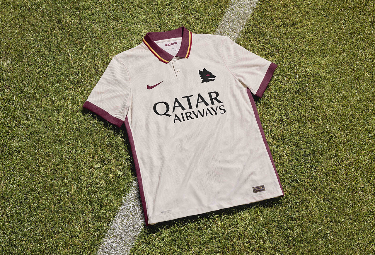 Camisa reserva da AS Roma 2020-2021 Nike » Mantos do Futebol