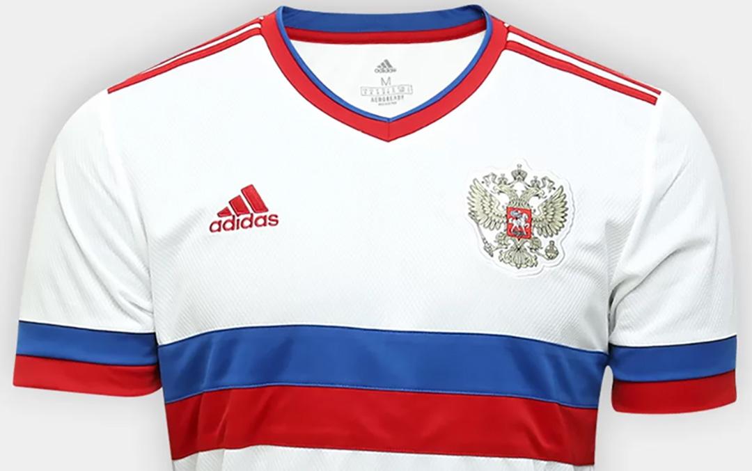 Camisa reserva da Russia 2020-2021 Adidas a