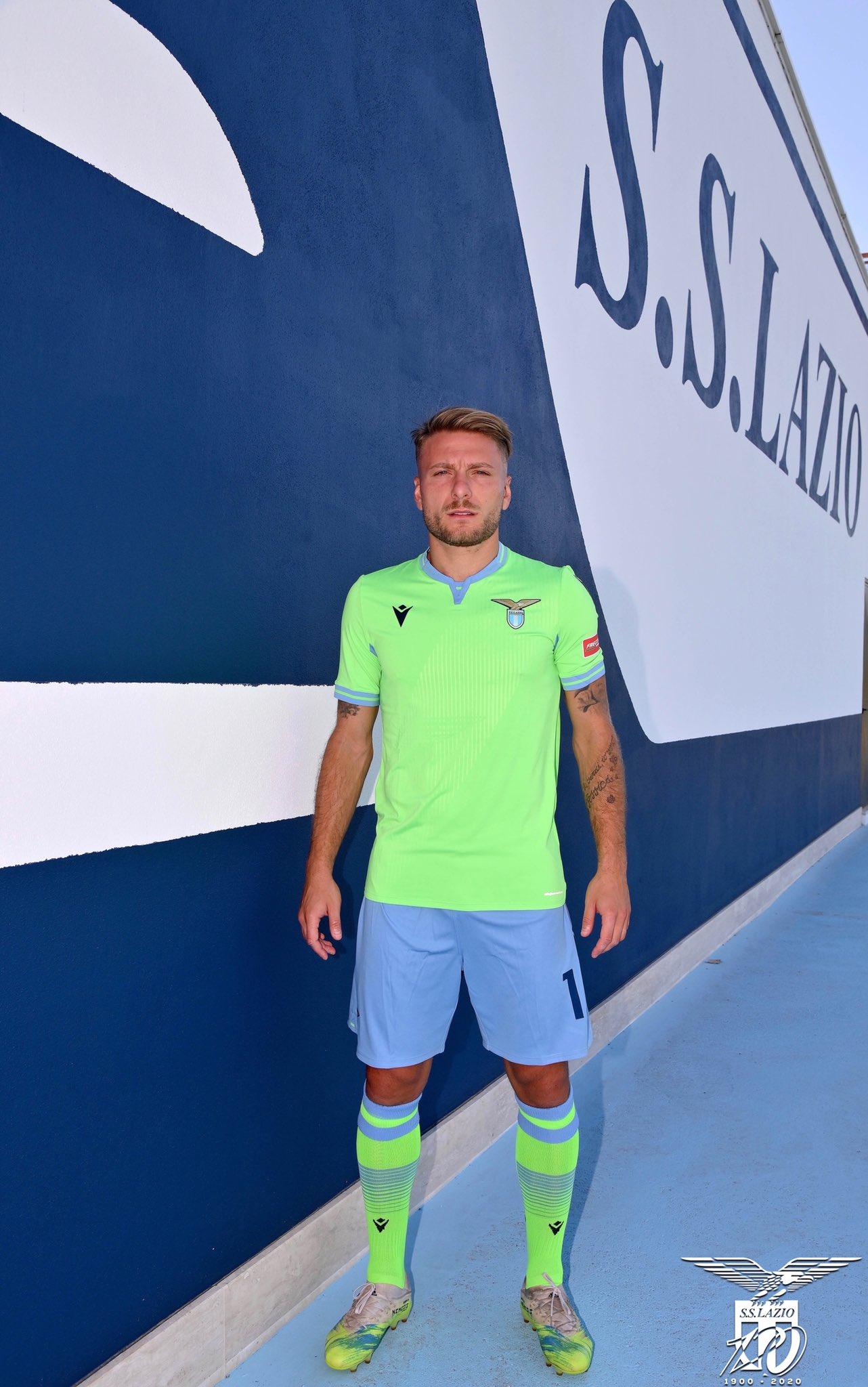 Camisa reserva da SS Lazio 2020-2021 Macron