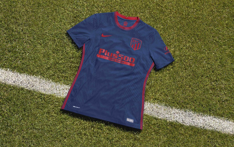 Camisa reserva do Atlético de Madrid 2020-2021 Nike a