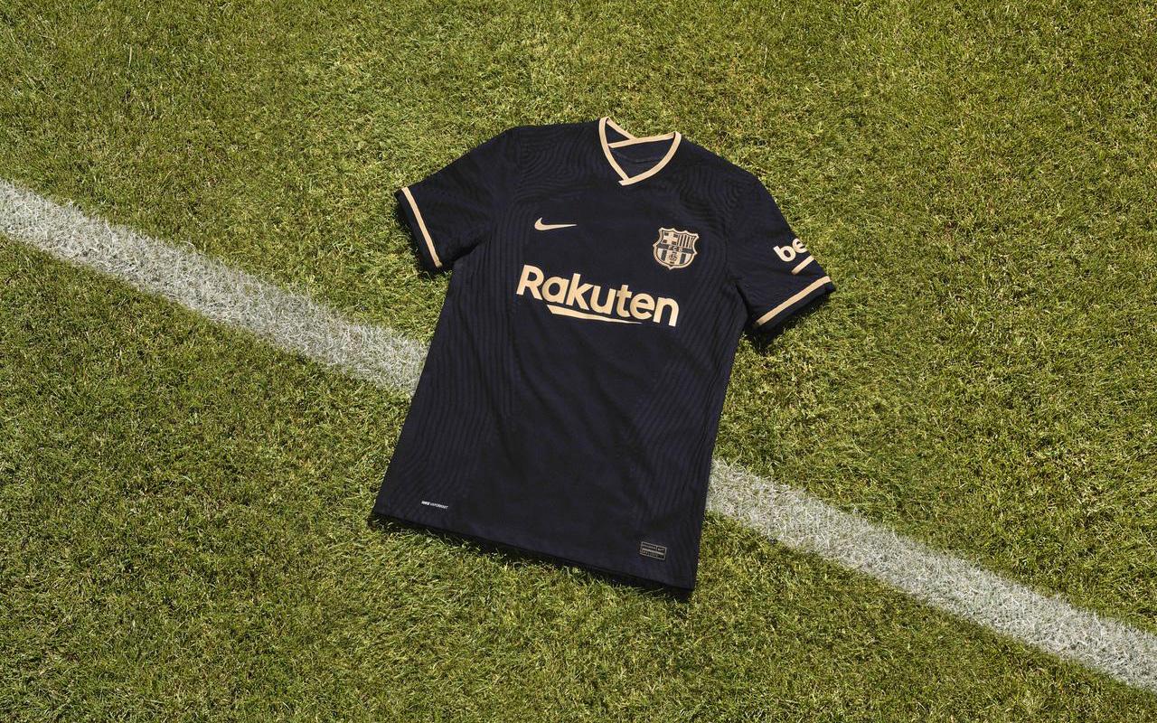Camisa reserva do Barcelona 2020-2021 Nike Reserva 5