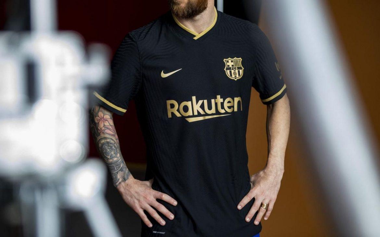 Camisa reserva do Barcelona 2020-2021 Nike Reserva abre