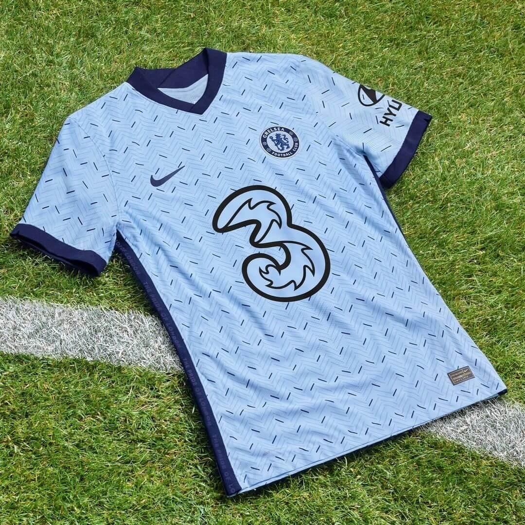 Camisa reserva do Chelsea FC 2020-2021 Nike