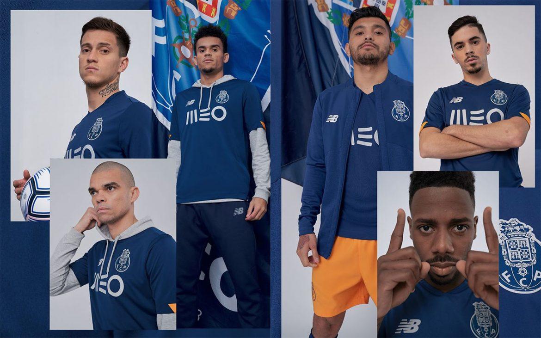 Camisa reserva do FC Porto 2020-2021 New Balance a