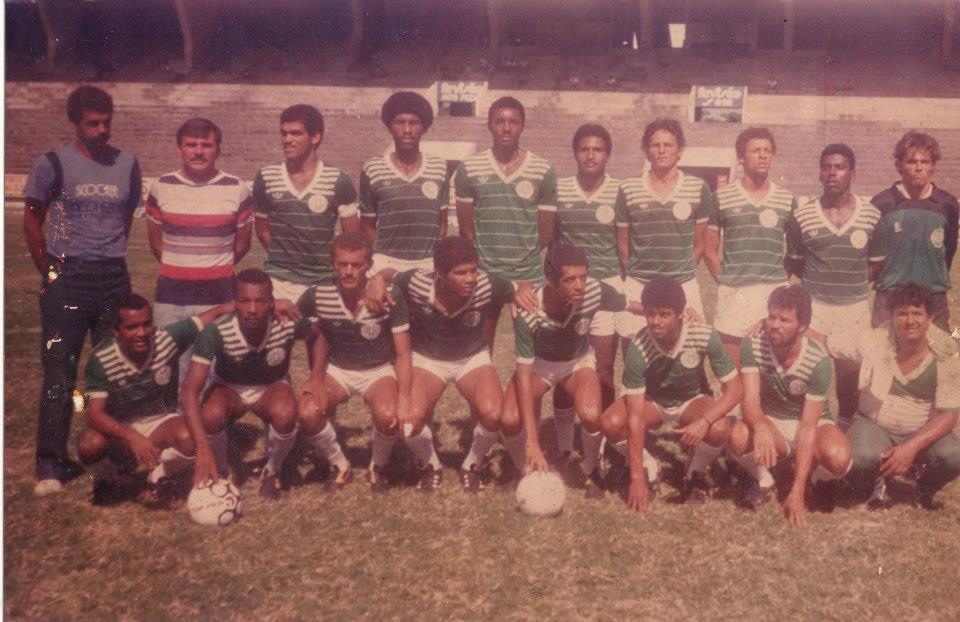 Camisa verde do América PE 1986