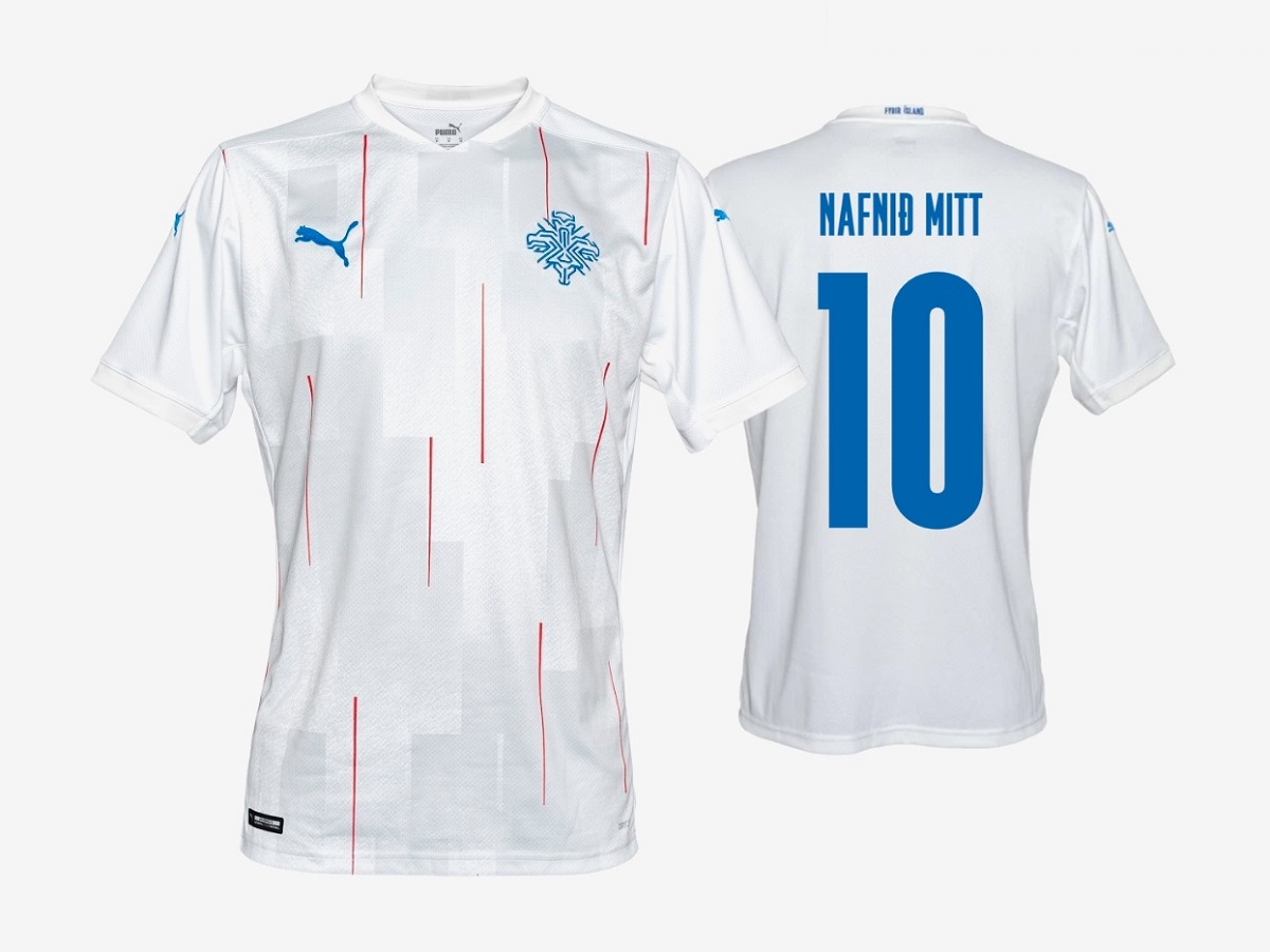 Camisas da Islândia 2020-2021 PUMA