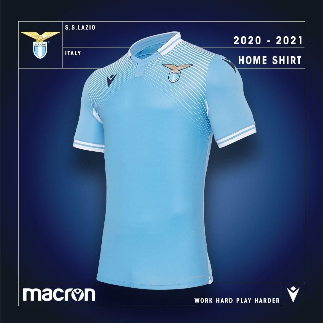 Camisas da SS Lazio 2020-2021 Macron