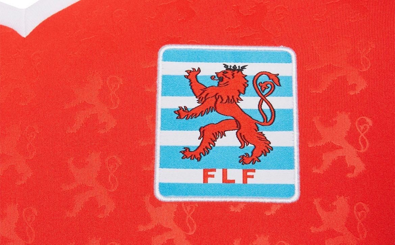 Camisas da Seleção de Luxemburgo 2020-2021 Macron Titular
