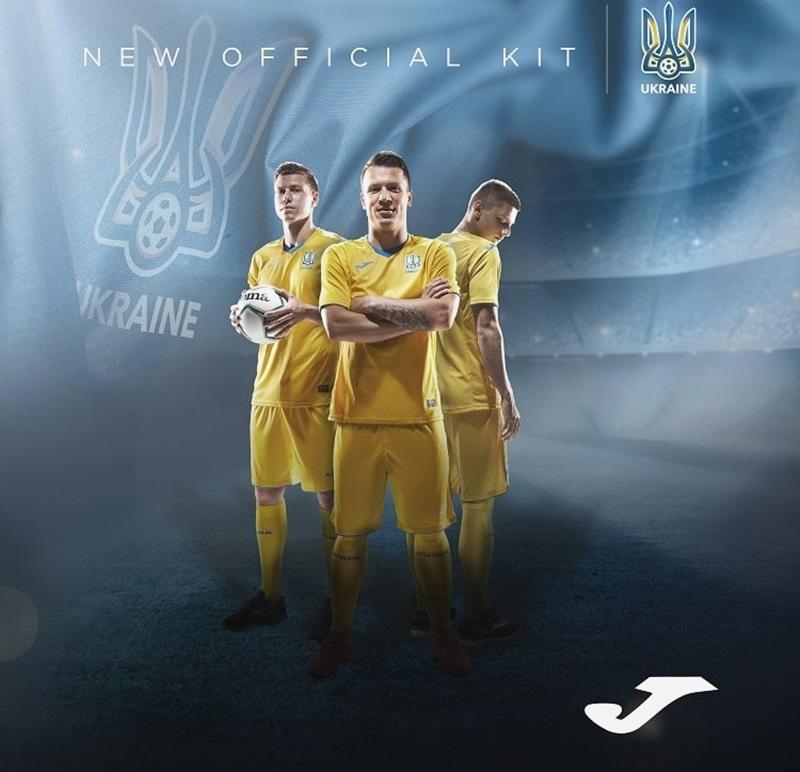 Camisas da Ucrânia 2020-2021 JOMA
