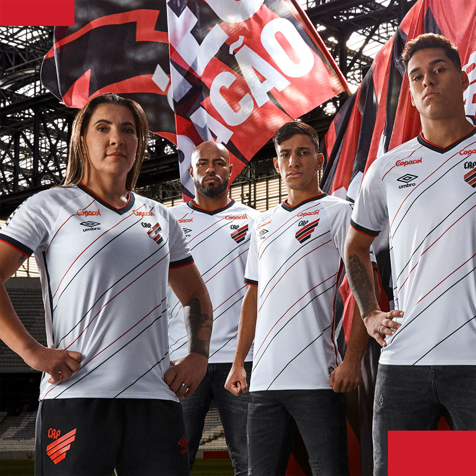 Camisas do Athletico-PR 2020-2021 Umbro Reserva 1