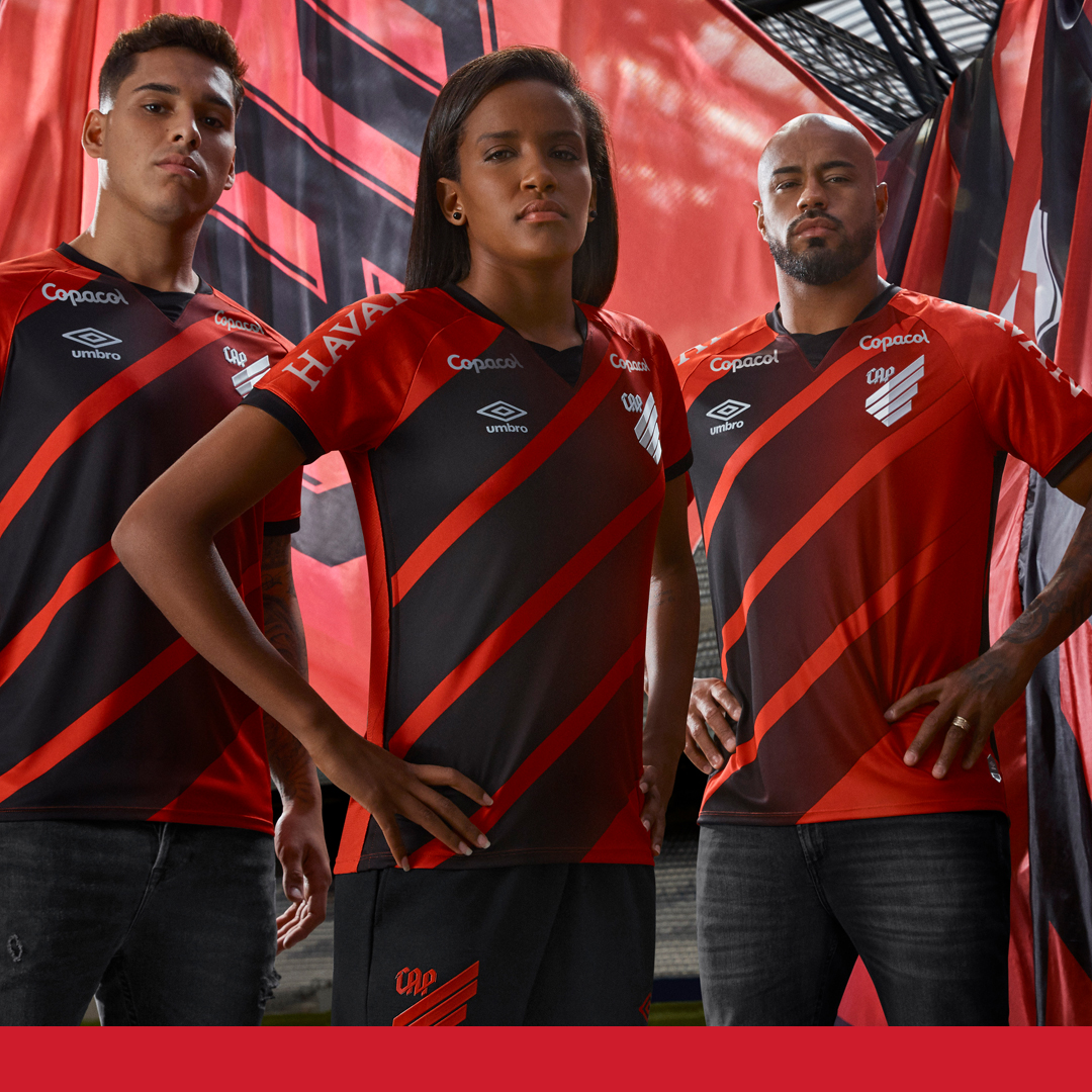 Camisas do Athletico-PR 2020-2021 Umbro Titular