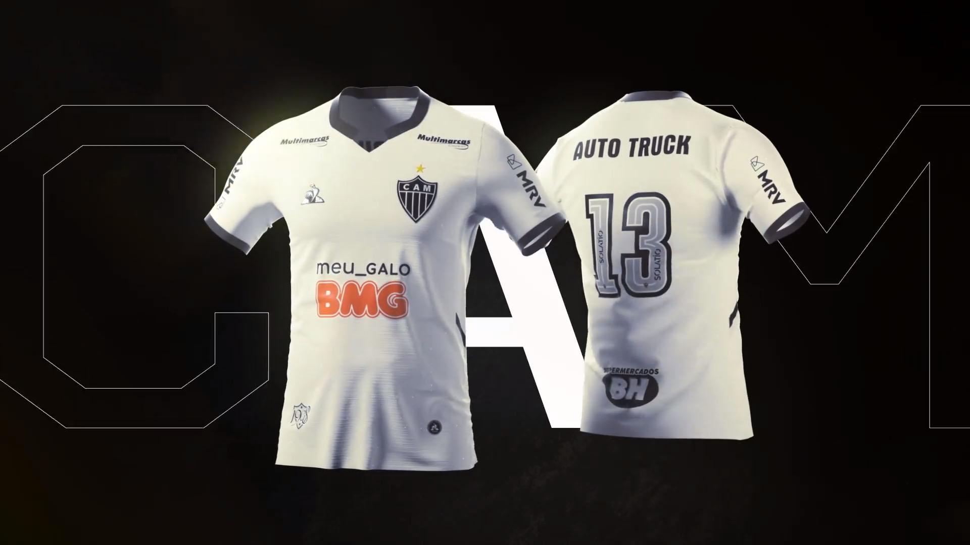 Camisas do Atlético-MG 2020-2021 Le Coq Sportif Reserva