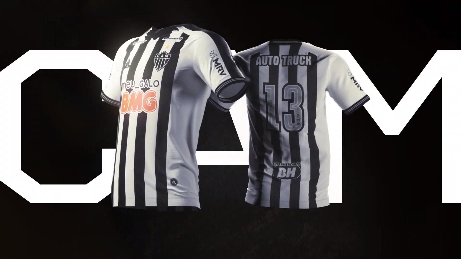 Camisas do Atlético-MG 2020-2021 Le Coq Sportif Titular