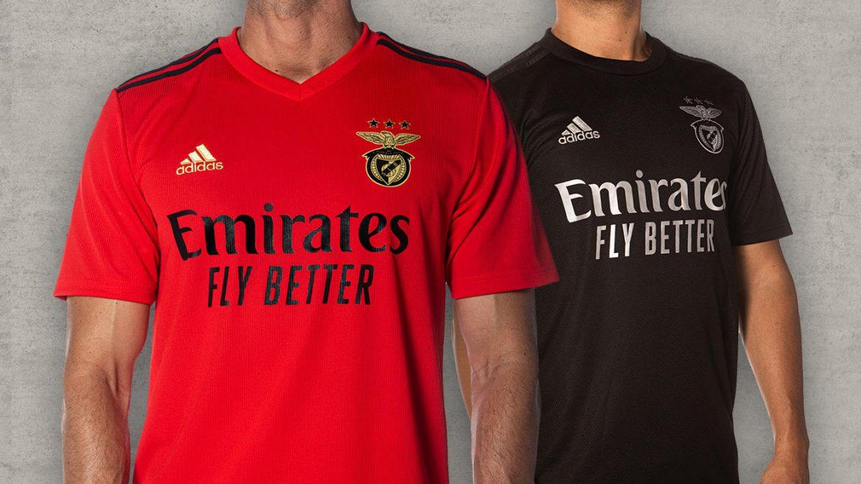 Camisas do Benfica 2020-2021 Adidas a