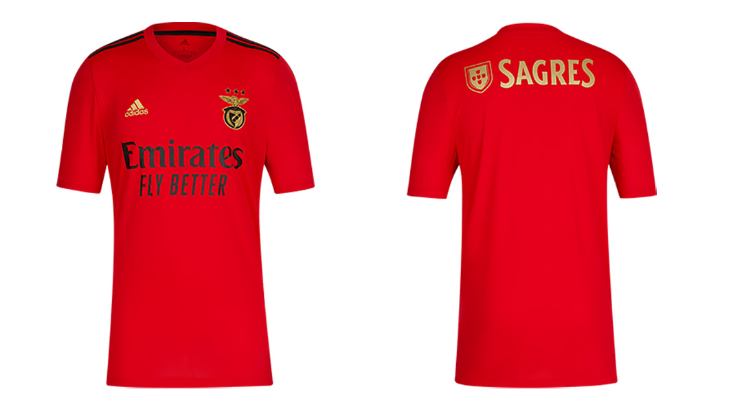 Camisas do Benfica 2020-2021 Adidas